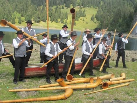 Aubade de Cors des Alpes - L'Echo du Boiron