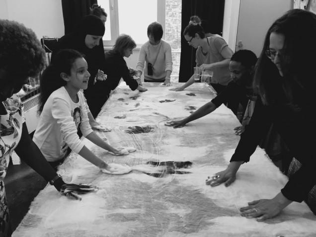 Felt Workshop - Hana Miletić & Globe Aroma (zaterdag 09/06)