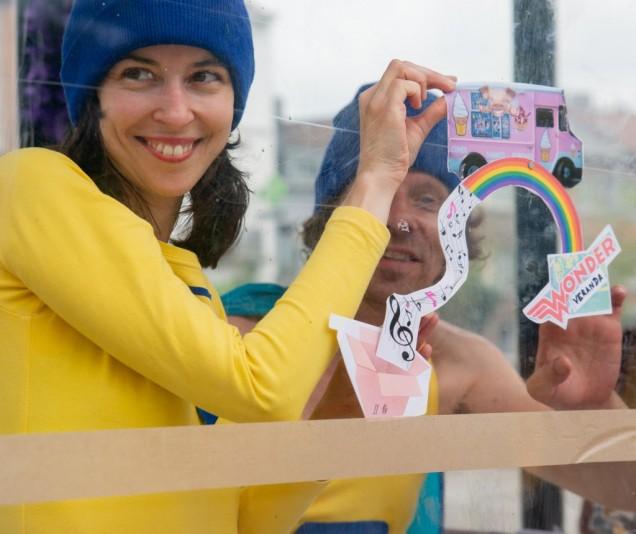 Wondervensters: Audrey Deroo & Wouter Verdegem
