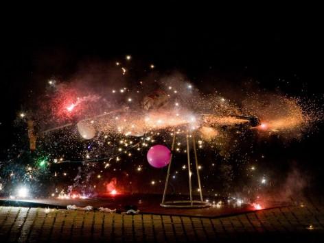 Cérémonie du feu KNALDRANG + MASSAGRAF : 21.8