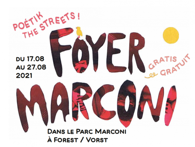Foyer Marconi SEMAINE 2 : programme 23.08 - 27.08